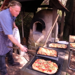 Pizza from the Cob Oven